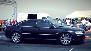Download Audi S2 Coupe Turbo Vs. Audi A8 Drag Race HD Video