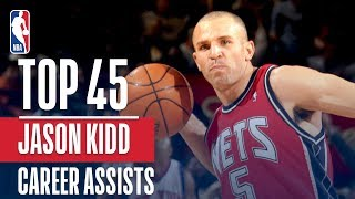 Download Jason Kidd's Top 45 Assists! Video