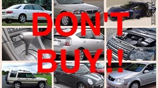 Download 9 Used Cars You Should NEVER Buy Video
