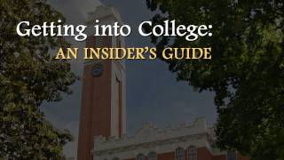 Download Insider's guide to admissions Video