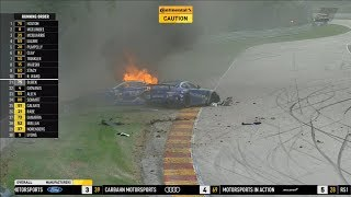 Download Continental Tire SportsCar Challenge 2018. Road America 120. Craig Lyons & Russell Ward Huge Crash Video