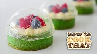 Download SUGAR SNOW GLOBE DESSERT WITH CRISP DOME 🎄 😍 How To Cook That Ann Reardon Video