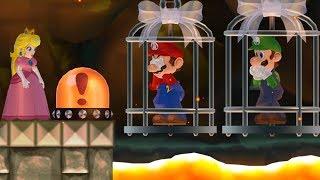 Download New Super Mario Bros. Wii - Peach wants to rescue Mario and Luigi Video