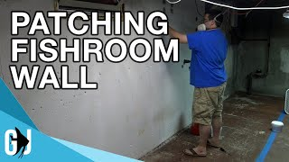Download #589: Patching Fishroom Wall - Update Monday Video
