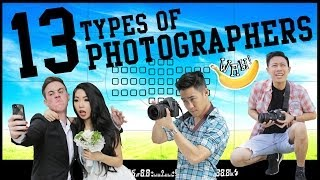 Download 13 Types of Photographers Video