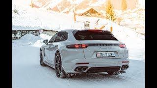 Download PORSCHES LOVE SNOW! | 2018 PANAMERA TURBO Video