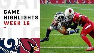 Download Rams vs. Cardinals Week 16 Highlights | NFL 2018 Video