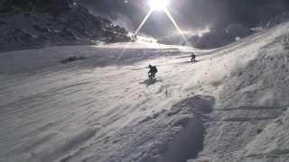 Download ski extreme, Couturier aiguille Verte MontBlanc, Chamonix Video