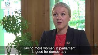 Download Int'l Day of Parliamentarism: Ulrika Karlsson, Pres., IPU Women MPs Bureau & Swedish Parliamentarian Video