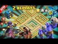 Download TH12 WAR BASE 2018 ANTI 2 STAR With 2 Replays Anti BoWitch,LaVaLooN,Electro Dragon,Anti Queen Walk Video