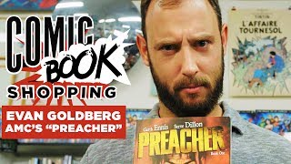 Download Evan Goldberg Goes Comic Book Shopping With Collider Video