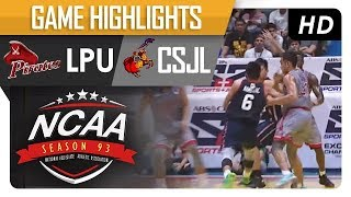 Download LPU Pirates vs. CSJL Knights | NCAA 93 | MB Game Highlights | August 18, 2017 Video
