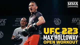 Download UFC 223: Max Holloway Open Workout - MMA Fighting Video