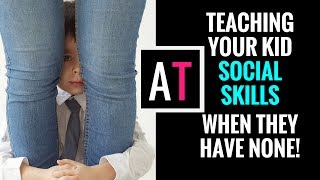 Download Teaching Kids Social Skills When They Have None! Video