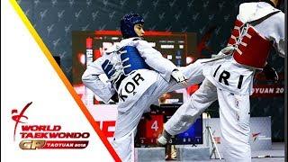 Download Taoyuan 2018 World Taekwondo GP-Final [male –68kg] Dae-Hoon LEE(KOR) vs Mirhashem HOSSEINI(IRI) Video