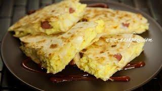 Download Breakfast Quesadilla Recipe Video