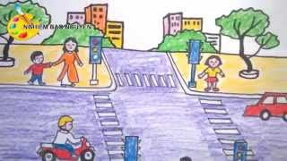 Download Vẽ tranh An toàn giao thông/How to Draw Traffic Safety Video