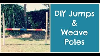 Download How to Make Dog Agility Jumps/ Weavers | TheDogBlog Video