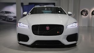 Download 2016 Jaguar XF First Look - 2015 New York Auto Show Video