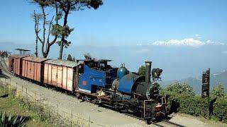 Download India 2016 - Freight train on the Darjeeling Railway Video