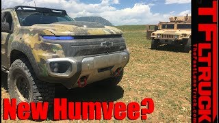 Download Is the Chevy Colorado ZH2 the new Humvee? Video