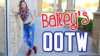 Download Bailey's Outfits of the Week (OOTW) | Fall Style Lookbook | Brooklyn and Bailey Video