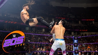 Download TJ Perkins vs. Neville: WWE 205 Live, Feb. 14, 2017 Video