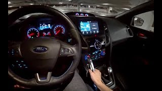 Download Modified Ford Performance Focus RS - POV Night Review (Binaural Audio) Video