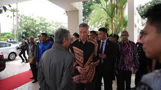 Download PM Lee Hsien Loong meets Malaysian PM Mahathir Mohamad Video