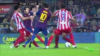 Download FC Barcelona 5-0 Atlético Madrid - Highlights 24/09/2011.mp4 Video