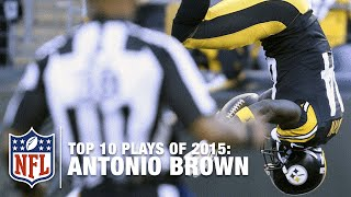 Download Top 10 Antonio Brown Highlights of 2015 | NFL Video
