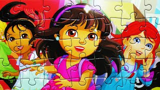 Download Dora the Explorer Puzzle Games Rompecabezas Nickelodeon Play Kids Learning Toys Video