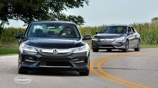 Download Should I Buy the 2017 Honda Accord V-6 or Four-Cylinder? Video
