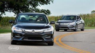 Download Should I Buy the 2017 Honda Accord V-6 or Four-Cylinder? Video