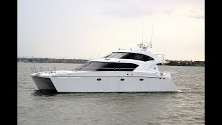 Download 2000 Jutson 46' Power Cat by Marine Magic. At Jay Bettis & Co. in Seabrook, Texas Video