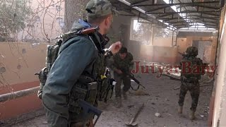 Download Urban warfare in Bashiqa: Kurds capture ISIS jihadist, suicide belt detonates [08.11.2016] Video