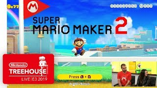 Download Super Mario Maker 2 Gameplay Pt. 1 - Nintendo Treehouse: Live | E3 2019 Video