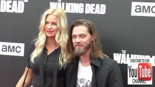 Download Tom Payne and Jennifer Ackerman at the AMC presents Talking Dead Live for the premiere of The Walkin Video