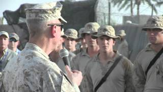Download The Commandant of the Marine Corps' motivating speech, Afghanistan 9-22-2011 Video