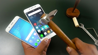 Download ViVo V5 vs Oppo F1s Hammer Test | Screen Scratch Test | Gorilla Glass Video