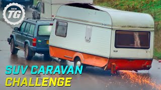 Download SUV Caravan Challenge | Top Gear | Series 22 | BBC Video