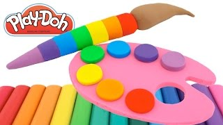 Download Best Learning Colors Video for Children Play Doh Paint Ice Cream Compilation RL Video