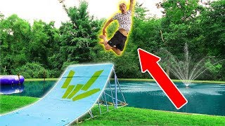 Download WE BUILT A MEGA RAMP!! Video
