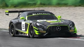 Download Mercedes AMG GT3 Sound - Accelerations, Fly Bys & Downshifts Video