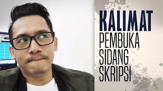 Download DJ Arie - Kalimat Pembuka Sidang Skripsi Video
