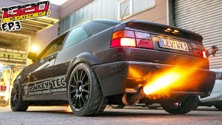 Download 650hp Turbo VR6 DonkeyTec Corrado RIPS! (Germany: EP-3) Video