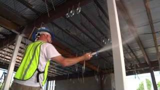 Download CAFCO SprayFilm WB 5 Intumescent Coating by Isolatek International Video