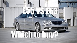 Download E55 VS. E63 AMG | Which one to buy? (4K) Video