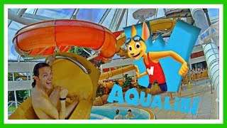 Download AQUALIBI: El Mejor Parque Acuático de Bélgica 2019 | Belgique | Belgium | Water Park Video