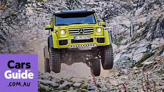 Download Mercedes Benz G500 4x4 Squared concept revealed Video